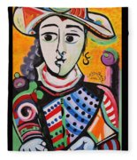 Picasso By Nora Fleece Blanket