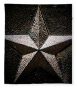 5-pointed Star Fleece Blanket