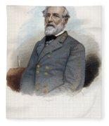 Robert E. Lee (1807-1870) Fleece Blanket