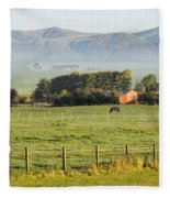 Scottish Scenery Fleece Blanket