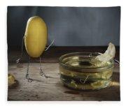 Simple Things - Potatoes Fleece Blanket
