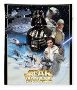 Star Wars Episode V - The Empire Strikes Back 1980 Fleece Blanket