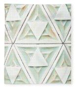 Stone Pattern Fleece Blanket