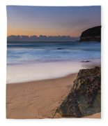 Sunrise By The Sea Fleece Blanket