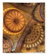 The Blue Mosque Istanbul  Fleece Blanket