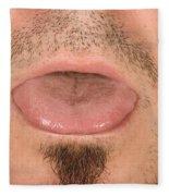 Tongue Fleece Blanket