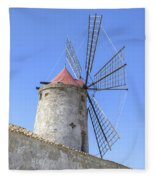 Trapani - Sicily Fleece Blanket