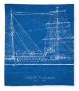 U.s. Coast Guard Cutter Northland Fleece Blanket
