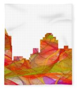 Virginia Beach  Virginia Skyline Fleece Blanket