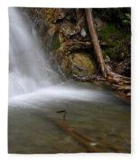 Waterfall, Quebec Fleece Blanket