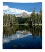 Yosemite Reflections Fleece Blanket