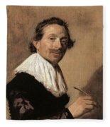 50chambr Frans Hals Fleece Blanket