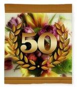 50th Anniversary Fleece Blanket