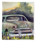 51 Ford Fleece Blanket