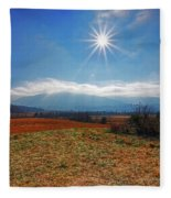 Great Smoky Mountains National Park Fleece Blanket