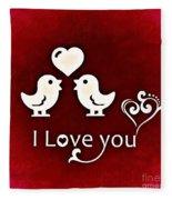Valentine Fleece Blanket