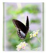 5276-001- Butterfly - Swallowtail Fleece Blanket