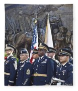 54th Regiment Bos2015_183 Fleece Blanket