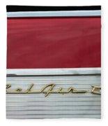 57 Chevy Bel Air Fleece Blanket
