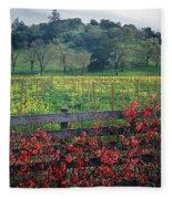 5b6301 Vineyards Of Color Fleece Blanket