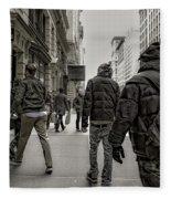 5th Avenue Walk Fleece Blanket
