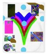 6-11-2015dabcdef Fleece Blanket