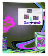 6-3-2015babcd Fleece Blanket