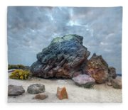 Agglestone Rock - England Fleece Blanket
