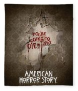 American Horror Story 2011 Fleece Blanket