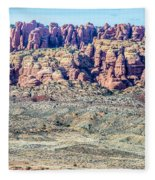 Arches National Park  Moab  Utah  Usa Fleece Blanket