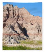 Badlands National Park South Dakota Fleece Blanket