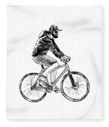 Bike Life  Fleece Blanket