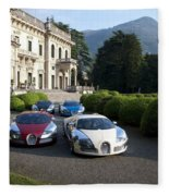 Bugatti Fleece Blanket