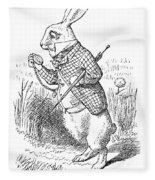 Carroll: Alice, 1865 Fleece Blanket