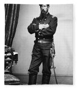 Civil War: Union Soldier Fleece Blanket