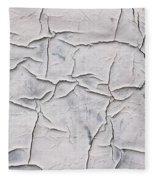 Cracked Paint Fleece Blanket