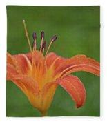 Day Lilly Fleece Blanket