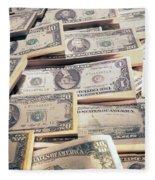 Dollar Fleece Blanket