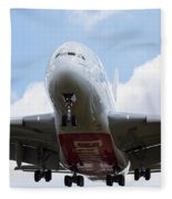 Emirates Airbus A380 Fleece Blanket