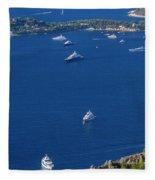 Eze, Alpes-maritimes Department, France Fleece Blanket