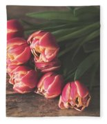 Flower Fleece Blanket