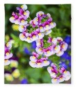 Flowering Garden.  Fleece Blanket