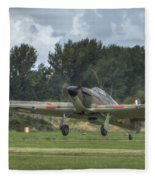 Mark 1 Hawker Hurricane Fleece Blanket