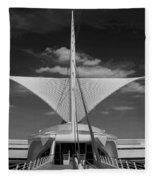 Milwaukee Art Museum Fleece Blanket