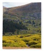 Mount Bierstadt In The Arapahoe National Forest Fleece Blanket