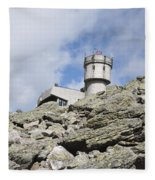Mount Washington - White Mountains New Hampshire Usa Fleece Blanket