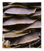 Mushroom Art Fleece Blanket