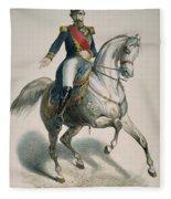 Napoleon IIi (1808-1873) Fleece Blanket