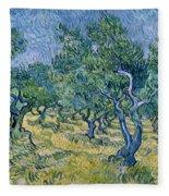 Olive Grove Fleece Blanket