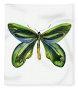 6 Queen Alexandra Butterfly Fleece Blanket